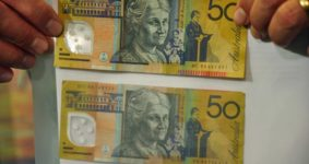 Australian Dollars counterfeit